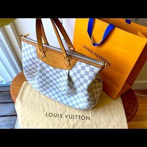 Authentic Louis Vuitton Siracusa Gm Damier,